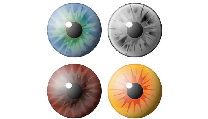 Aplicaciones para ojos