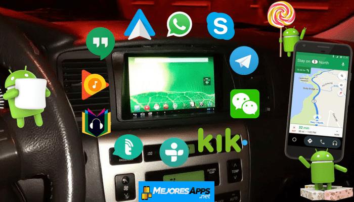 6 Mejores Aplicaciones Para Android Auto