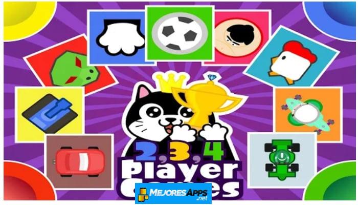 Juegos de 2, 3, 4 Jugadores