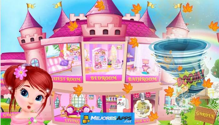 Limpieza de la casa de la princesa para niñas