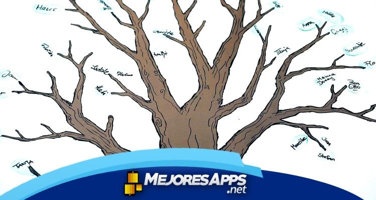 aplicaciones para hacer árbol genealógicos